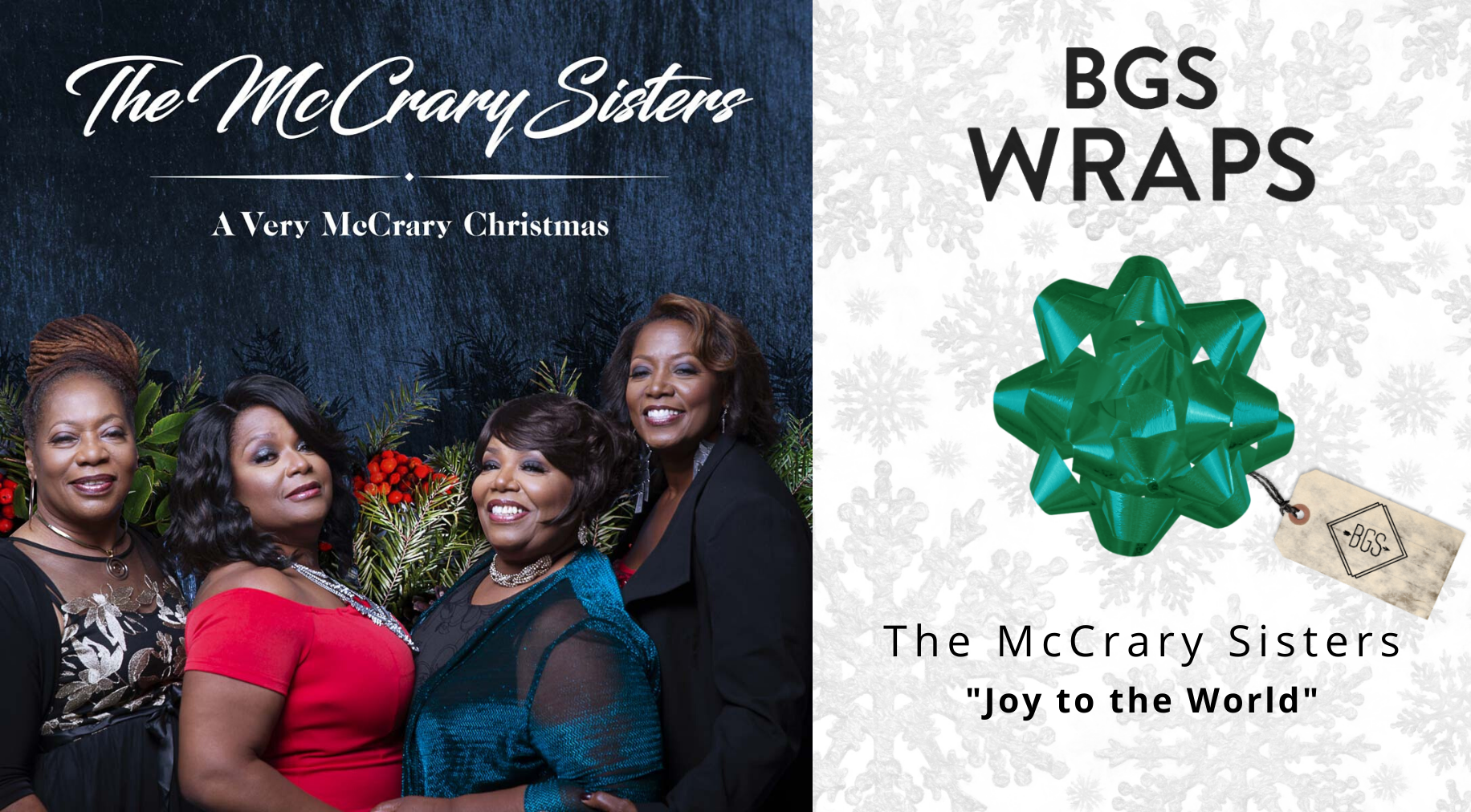 BGS WRAPS: The McCrary Sisters,