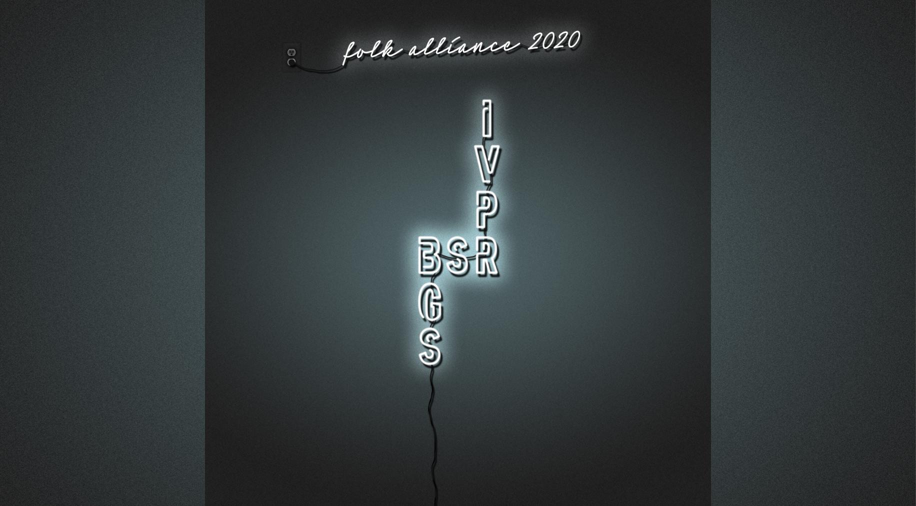 ANNOUNCING: BGS, IVPR, Bloodshot Records Partner for Folk Alliance 2020