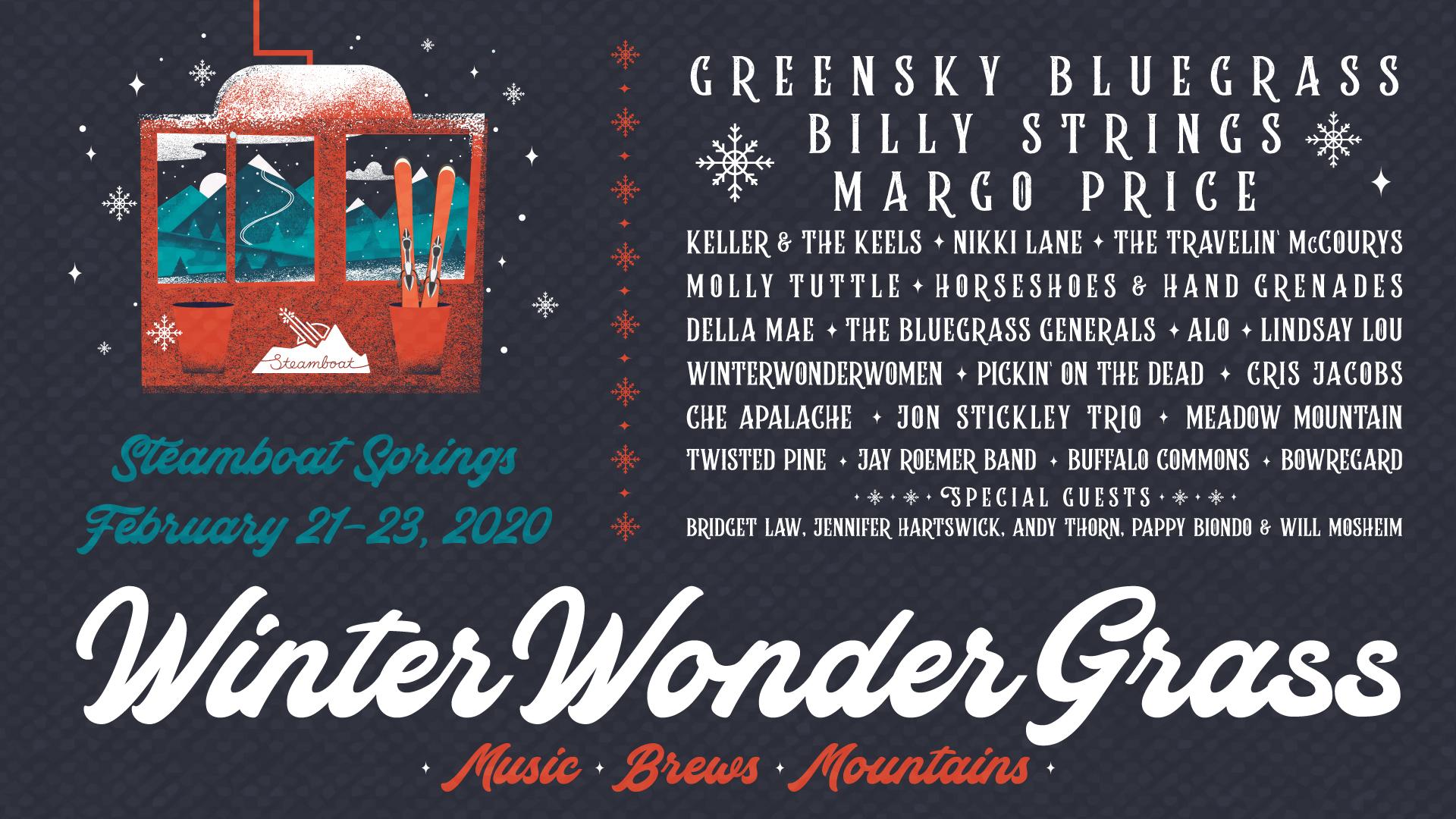 GIVEAWAY: Win Tickets to WinterWonderGrass (Steamboat Springs, CO) Feb 21-23