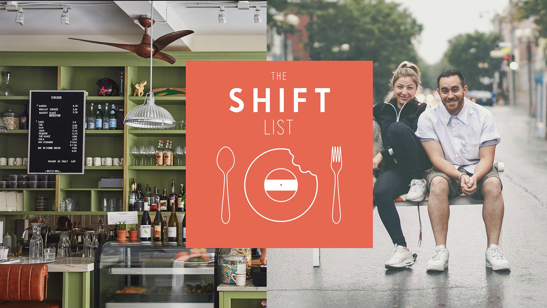 The Shift List – Arthurs Nosh Bar – Montreal
