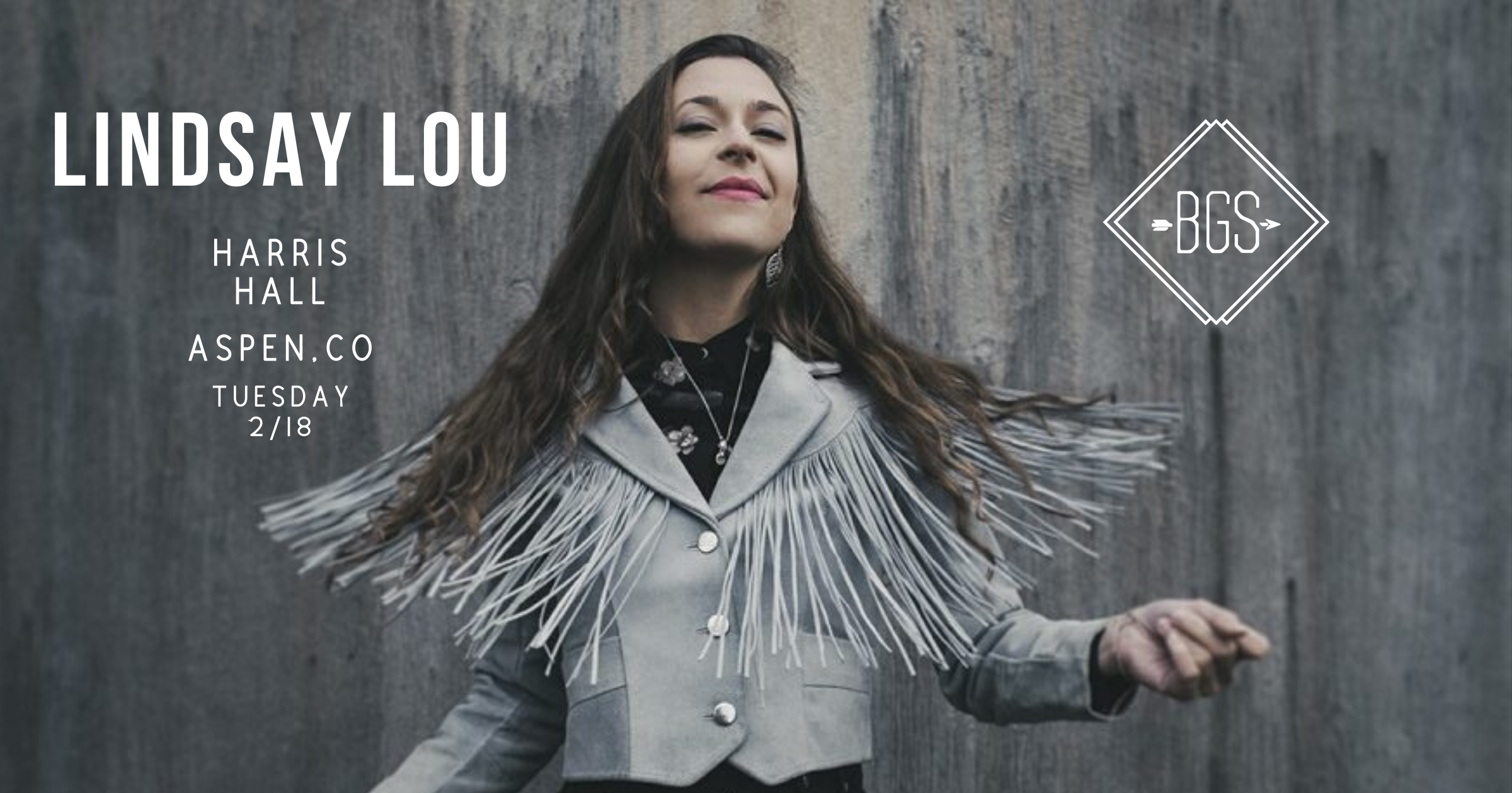 GIVEAWAY: Win tickets to Lindsay Lou @ Harris Hall (Aspen, CO) 2/18
