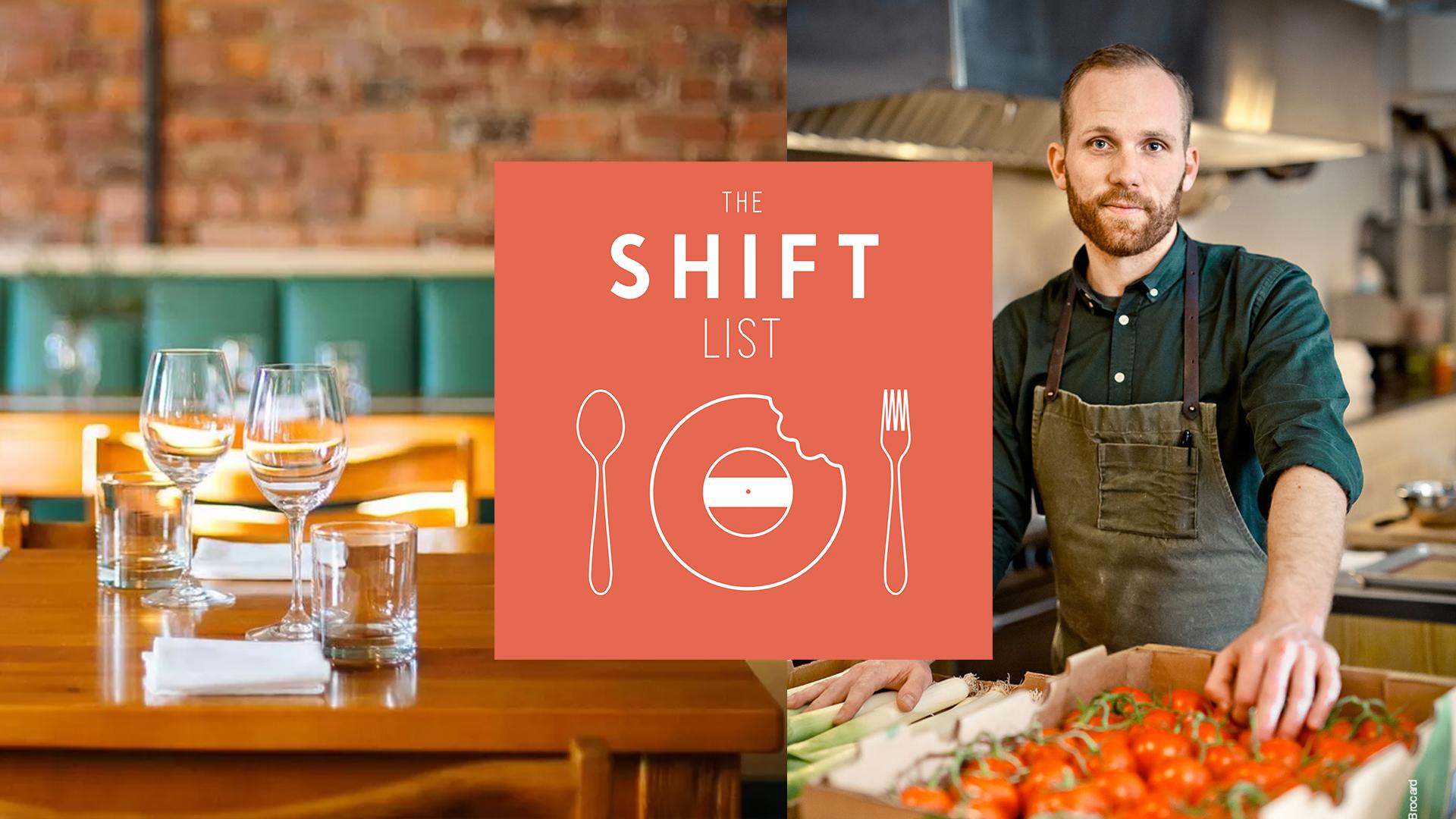 The Shift List – Chef John Winter Russell (Restaurant Candide) – Montreal, Part 1