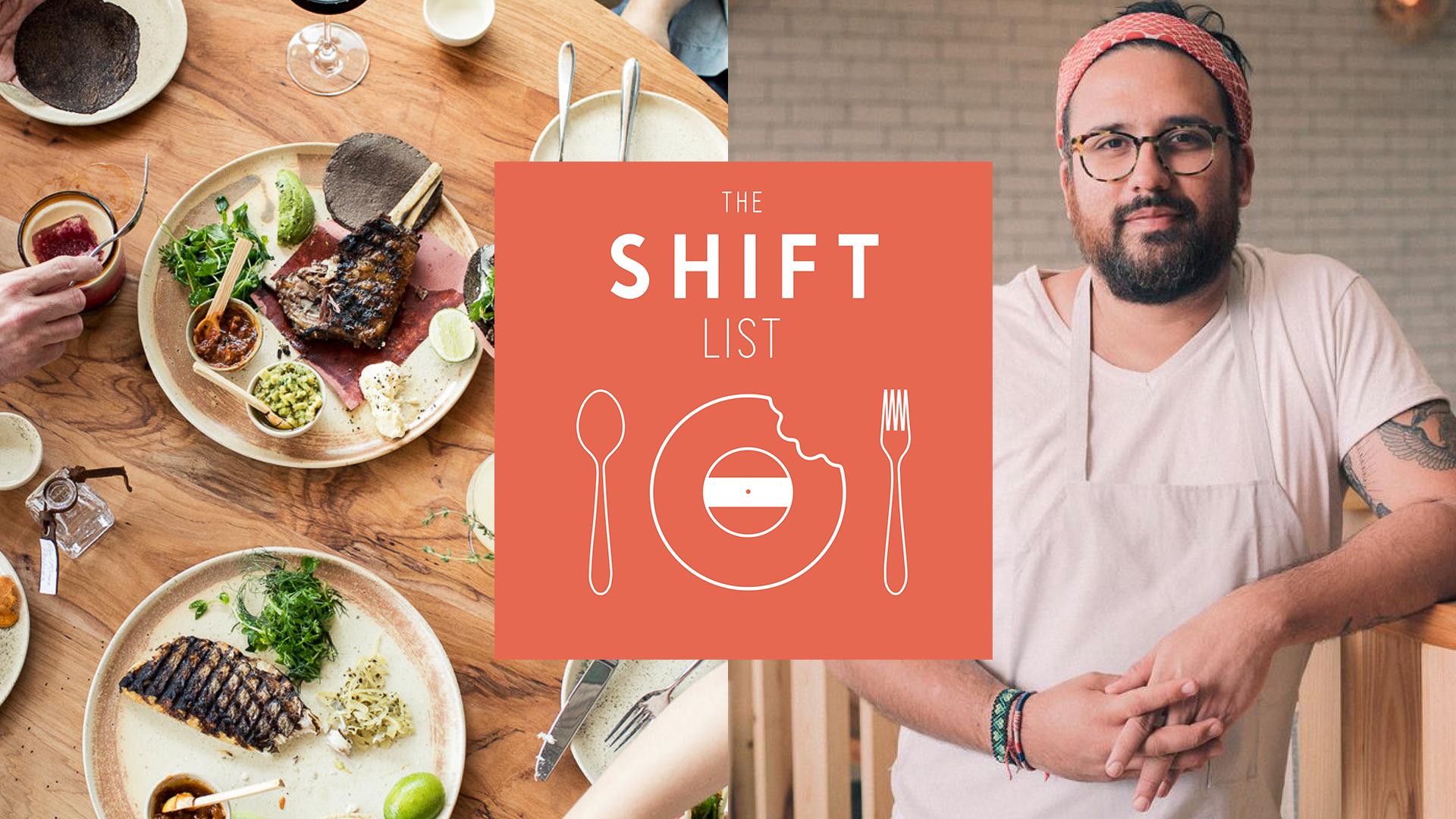 The Shift List - Chef Fermín Núñez (Suerte) - Austin, TX