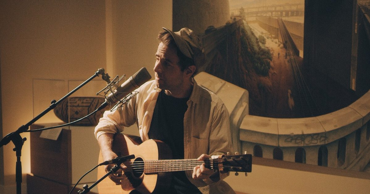 WATCH: Taylor Goldsmith of Dawes Performs at the Autry Museum in L.A.