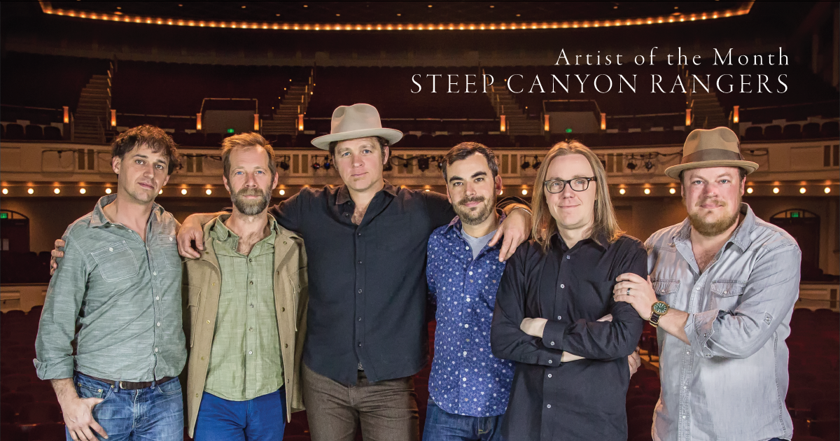 Steep Canyon Rangers Carry On, Without the Suits, 'Arm in Arm' (Part 1 of 2)