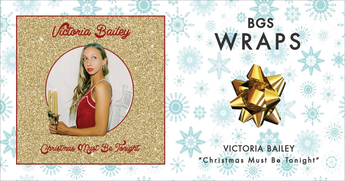 BGS Wraps: Victoria Bailey,