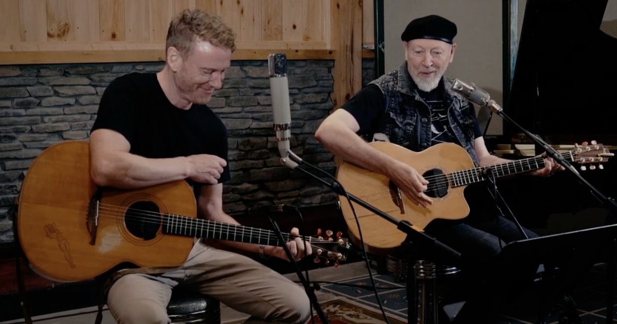 WATCH: Teddy and Richard Thompson Swap Songs on 'Woodstock Sessions'