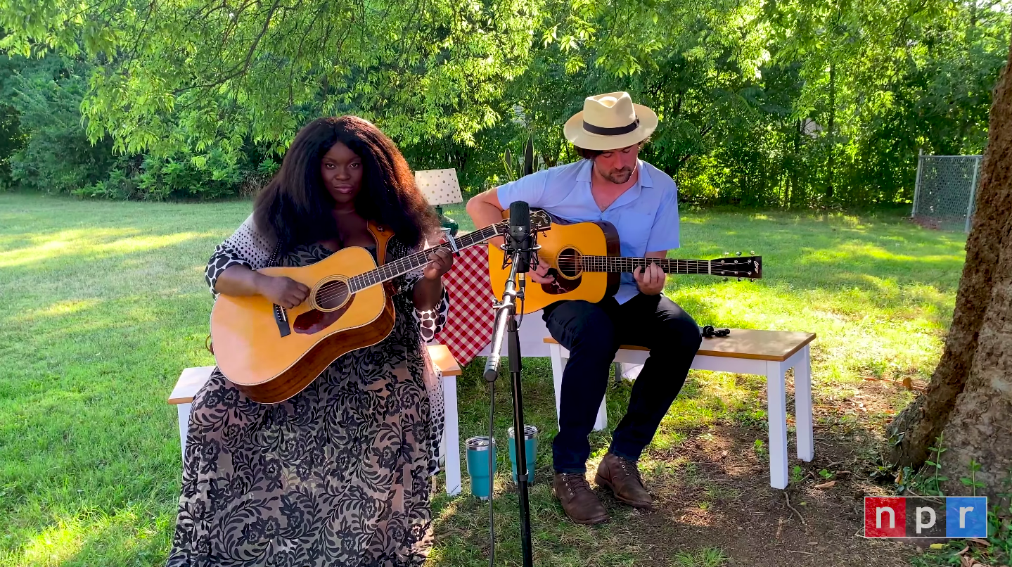 WATCH: Yola Takes Her Tiny Desk (Home) Concert Outside