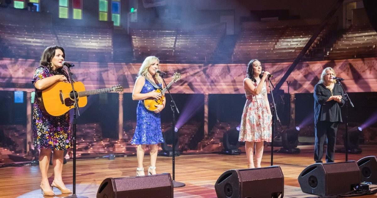 At the Ryman, Four of Bluegrass' Finest Sing