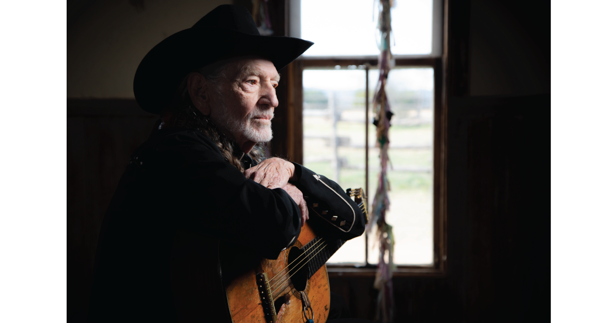 Hear Willie Nelson's Answer to a Tricky Year: