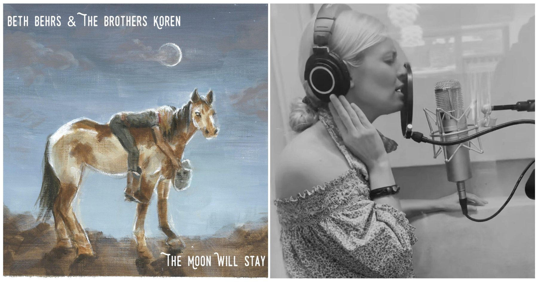 Harmonics with Beth Behrs: Beth Behrs & the Brothers Koren, 'The Moon Will Stay'