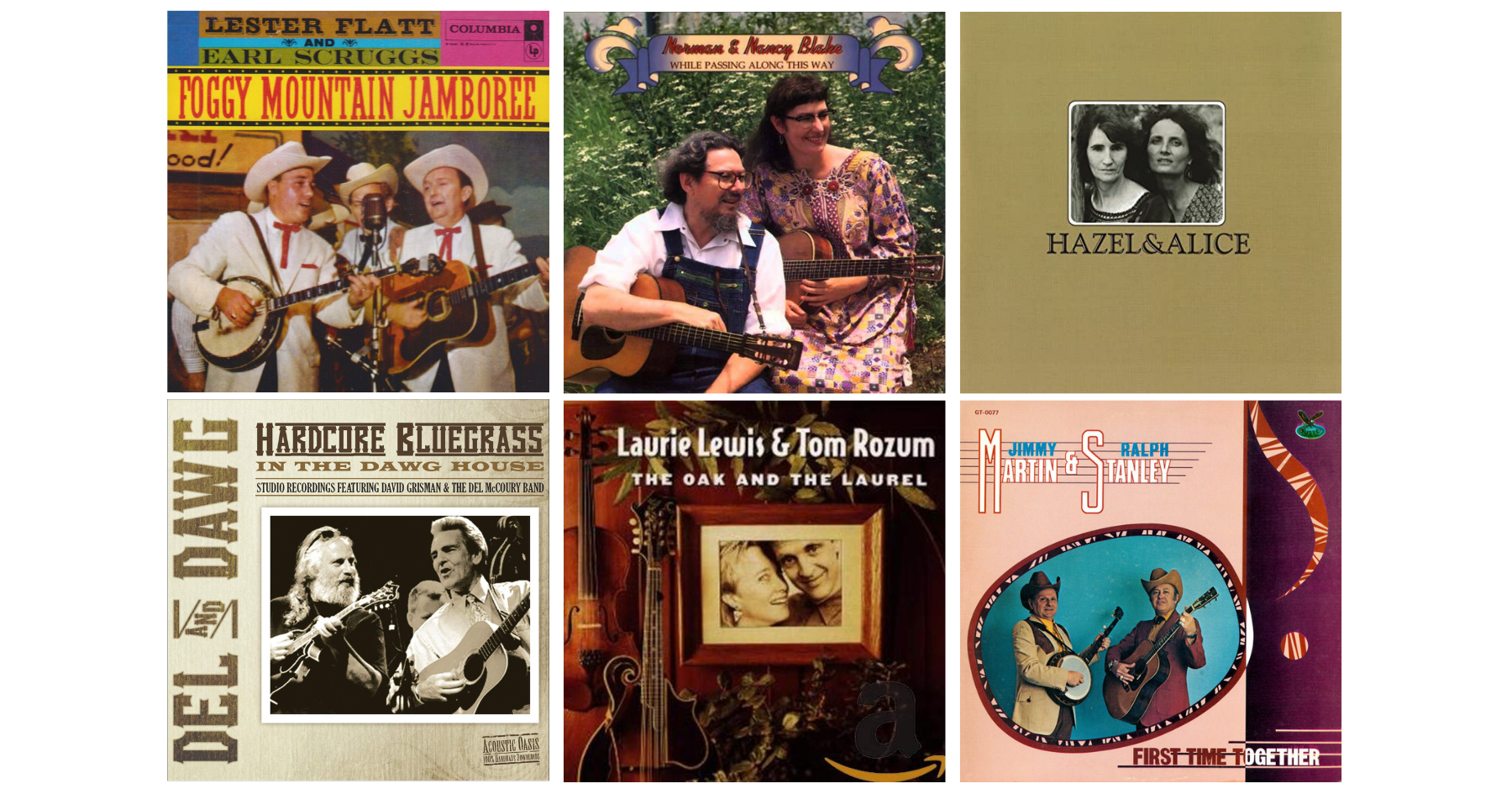 The BGS Radio Hour – Bluegrass Duets, New & Old