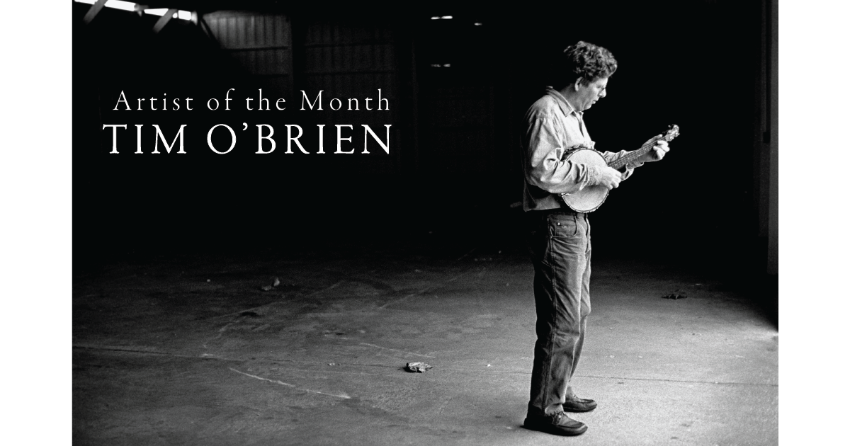 Artist of the Month: Tim O'Brien