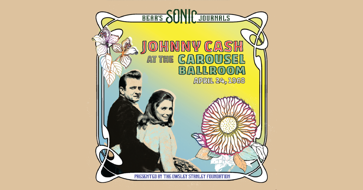 In This Unearthed 1968 Live Recording, Johnny Cash Sings