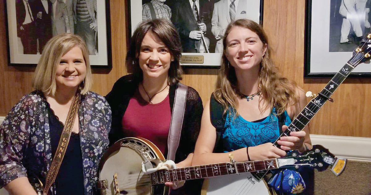 As Banjo Players and Friends, These Women Set the Tone in Bluegrass