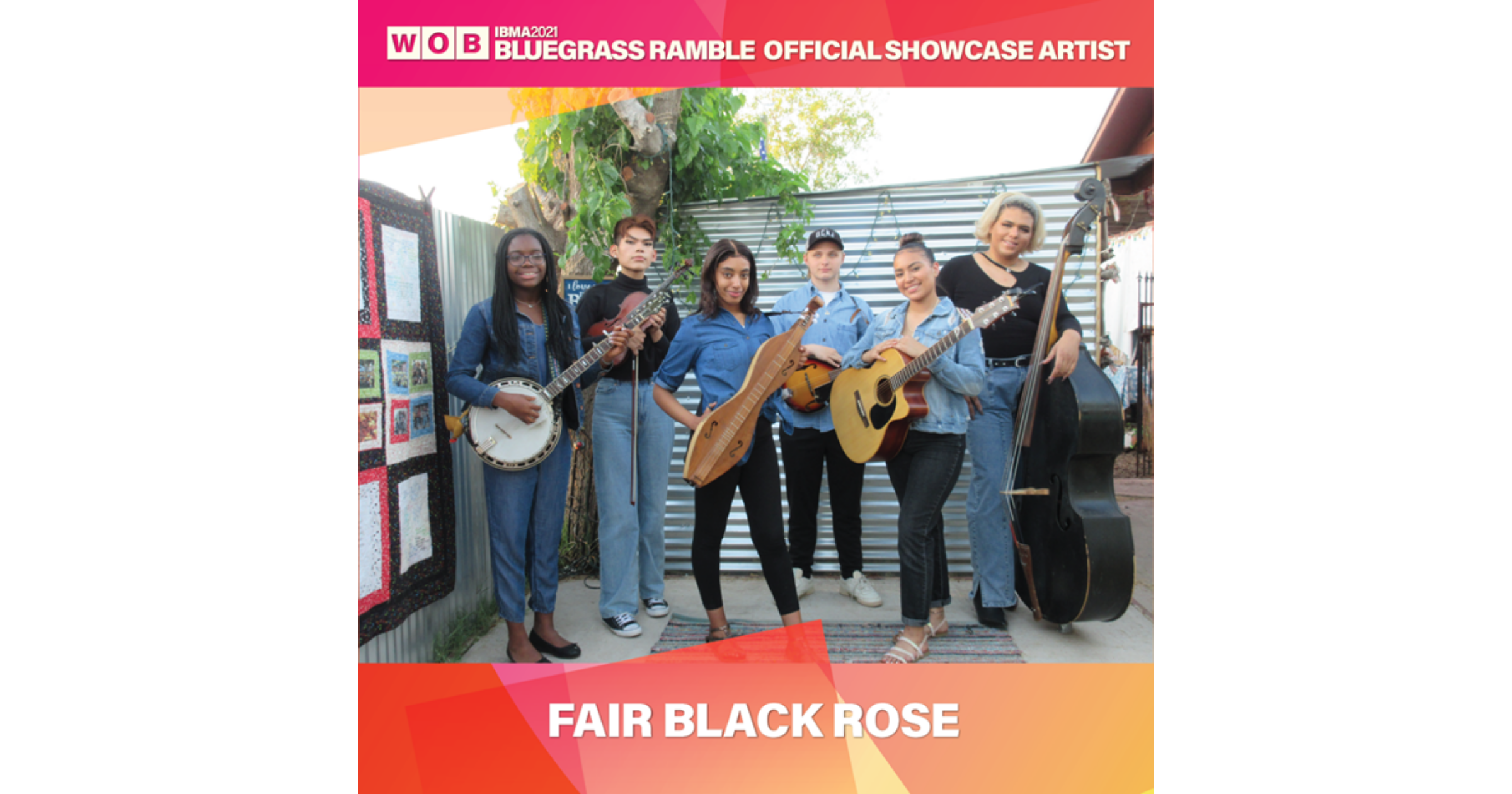 Fair Black Rose Wants You to Know Bluegrass is for Anyone