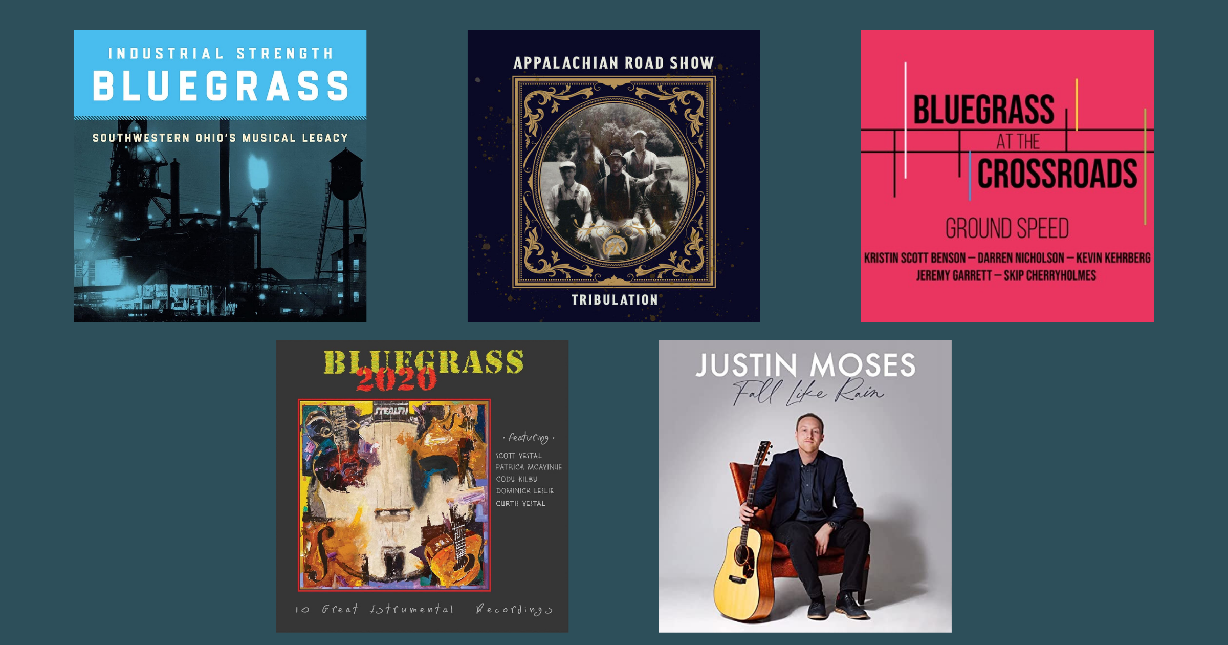 So Many Supergroups: Hear IBMA's 2021 Instrumental Recording Nominees